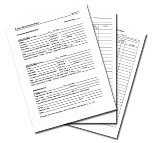 Child Care Registration Forms & Templates from Procare