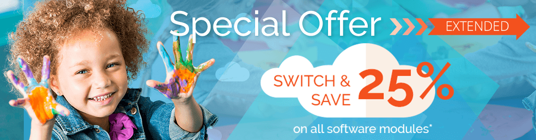 Special Offer - Switch and Save 25% on Software Modules from Procare Software.