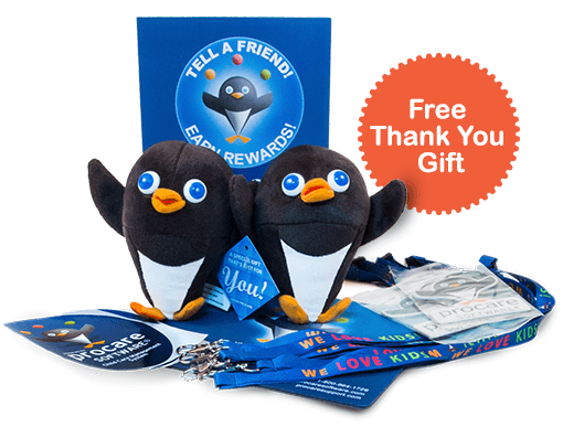 Tell Your Friends about Procare and Receive a Free Gift