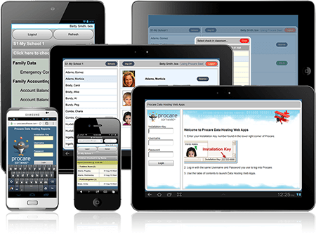 Procare Software Cloud Web Apps